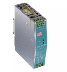 DIN rail power supply 48V 1.6A 76.8W MEAN WELL EDR-75-48