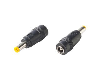 Plug reduction from 2.1 x 5.5 mm to 2.5 x 5.5 mm SUNNY
