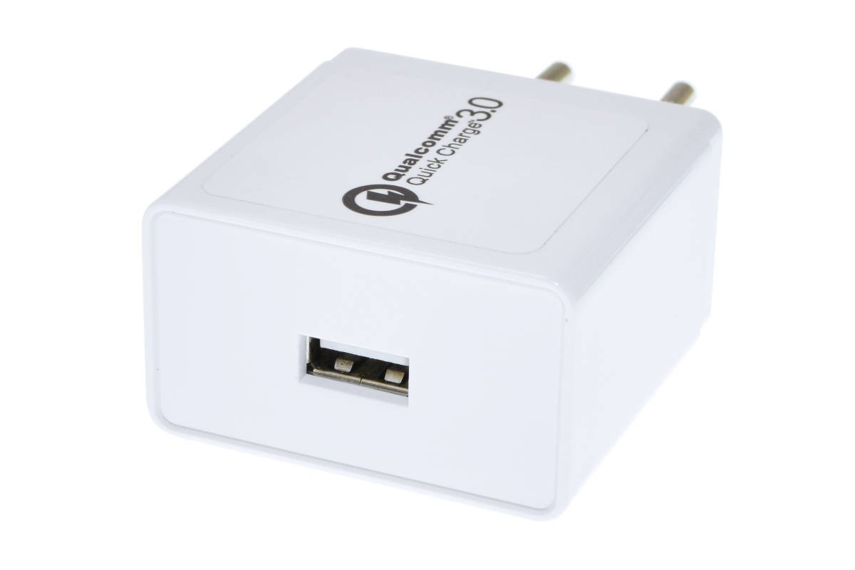 SZYBKA ŁADOWARKA SIECIOWA QUICK CHARGE 3.0 USB